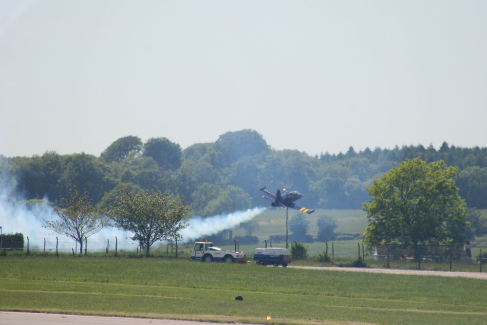 Very close call taken by chance at a Biggin Hill Airshow, many years ago.  #airaccident #nearmiss #bigginhill #airshow