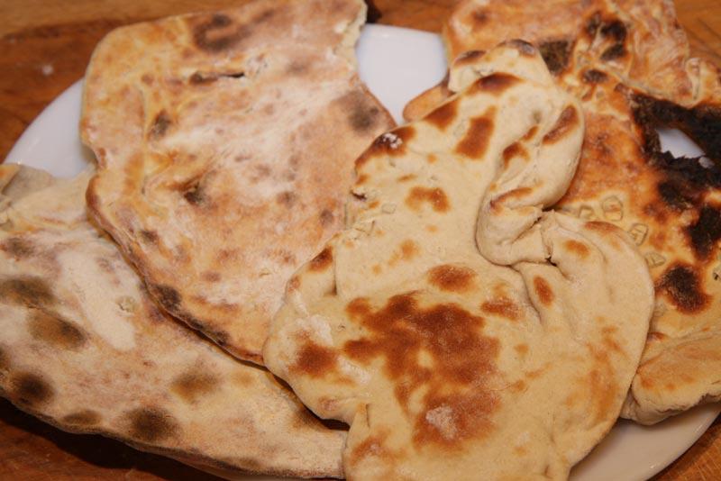 Garlic Naan Indian Recipe