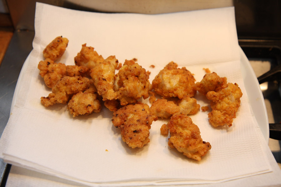 Spicy Fried Chicken Pieces British Recipe