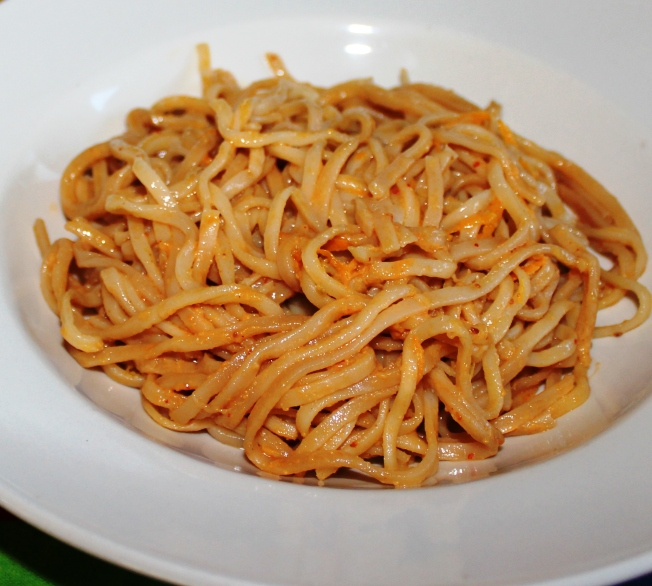 Sesame noodles with tangy citrus shreds Fruit recipes