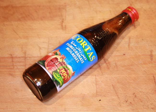 Pomegranate molasses: Wiki facts for this cookery ingredient
