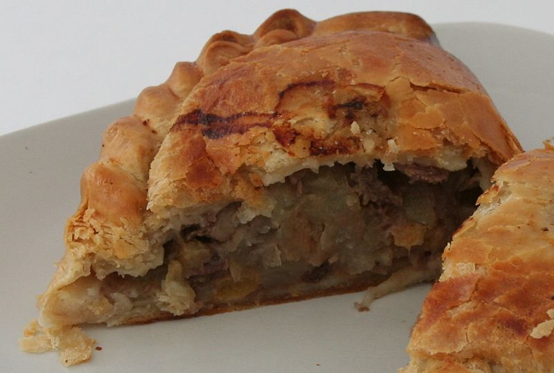 Cornish pasty recipe Beef, from Cookipedia.Co.Uk