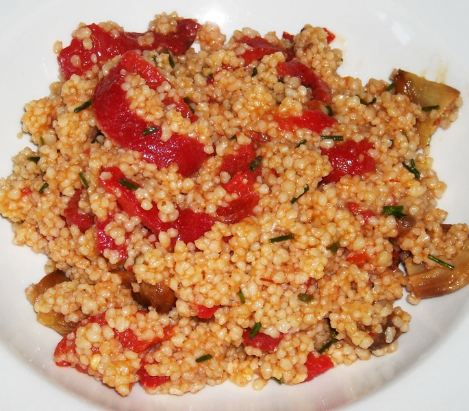 ... spanish couscous spanishy couscous salad recipe quick spanish couscous