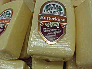 Butterkäse cheese suppliers, pictures, product info