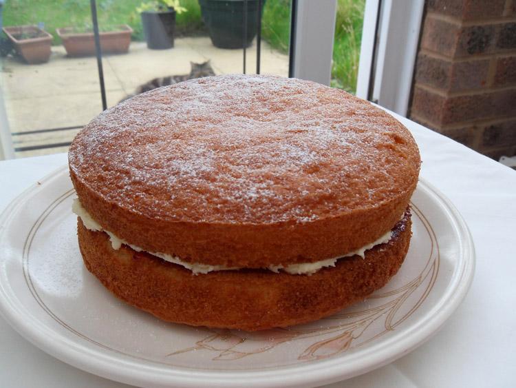 Victoria Cake Recipe