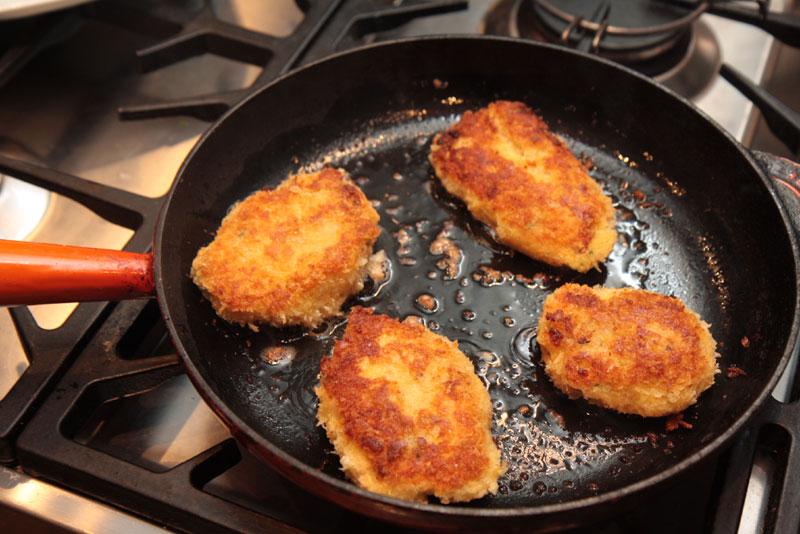 Masa harina fishcakes, Fish recipe