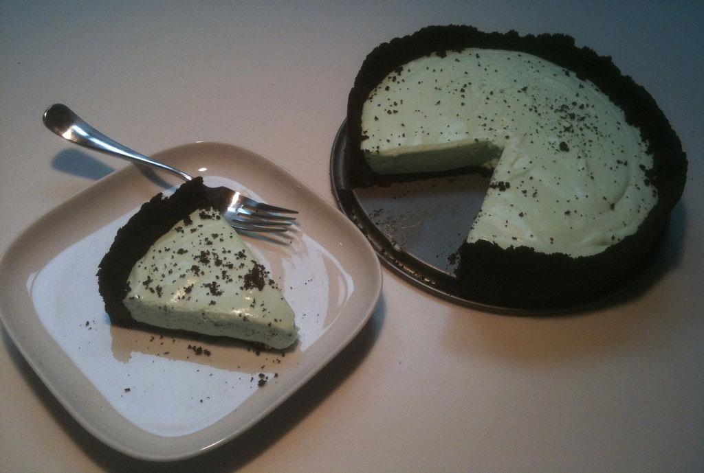Grasshopper Ice Cream Cake Baskin Robbins