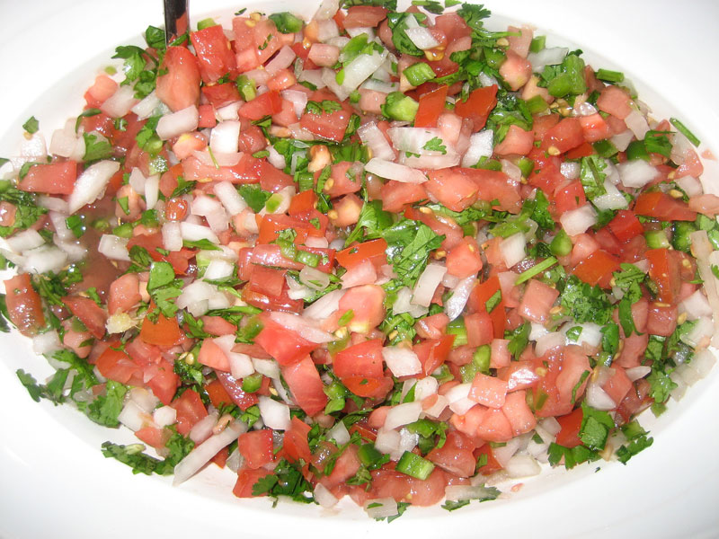 Pico de gallo, Vegetarian recipe Cooking Wiki