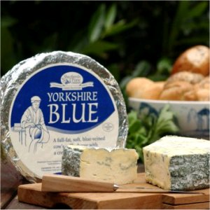 Yorkshire blue cheese ...