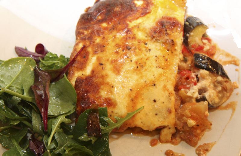 Roast vegetable moussaka recipe Greek recipes from The cook's Wiki