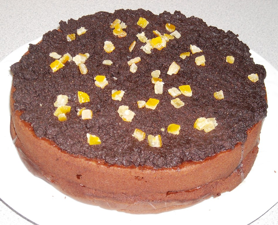 Orange Sponge Cake Jeannie Tay