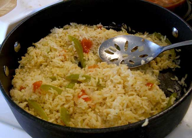 how to cook spanish rice