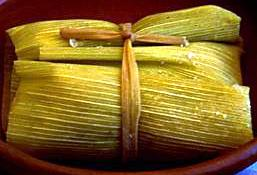 Humitas (Sweetcorn tamales) recipes