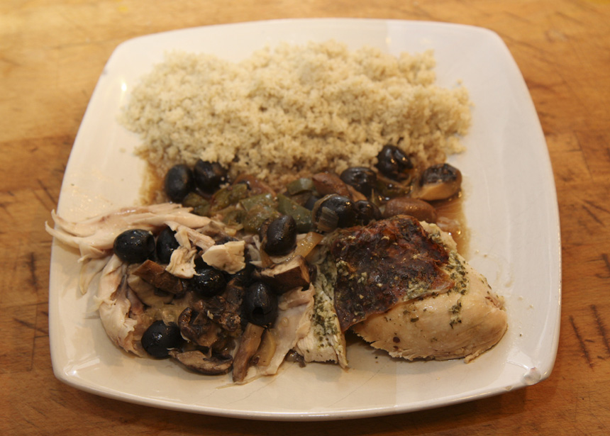 Pot Roasted Mediterranean Chicken An Italian Recipe