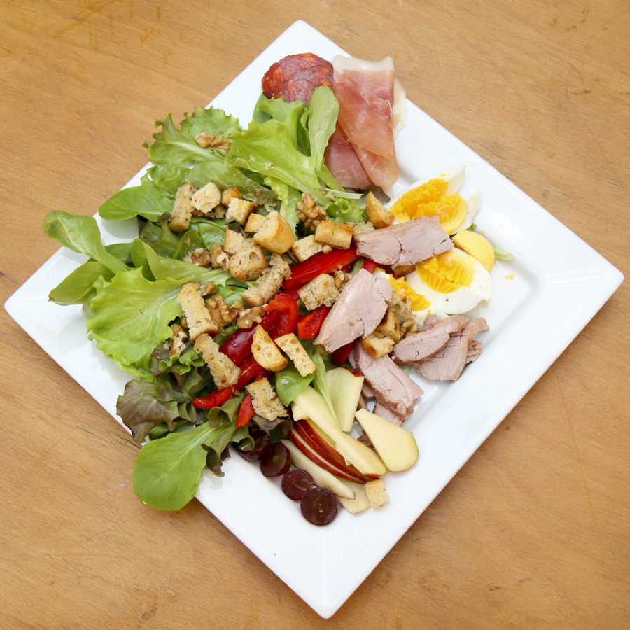 Best Place To Buy >> Salade Landaise recipe