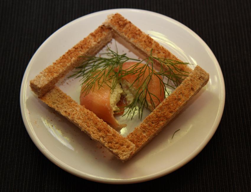 Smoked salmon timbales fish recipe for Smoked fish recipe
