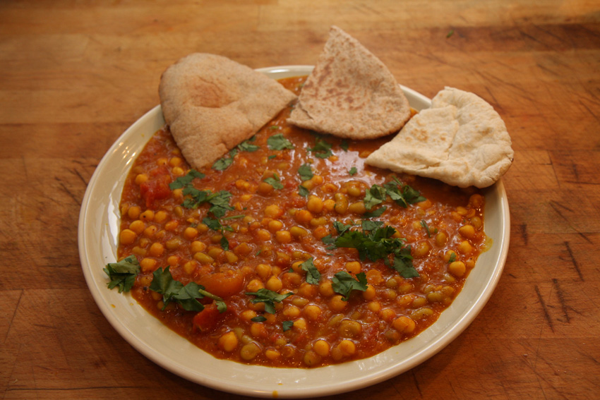 Red lentil curry, Indian recipe