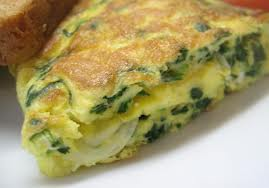 Cuban spinach quiche