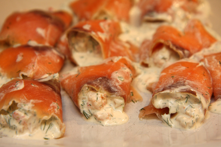 Smoked Salmon And Crayfish Parcels A Fish Recipe