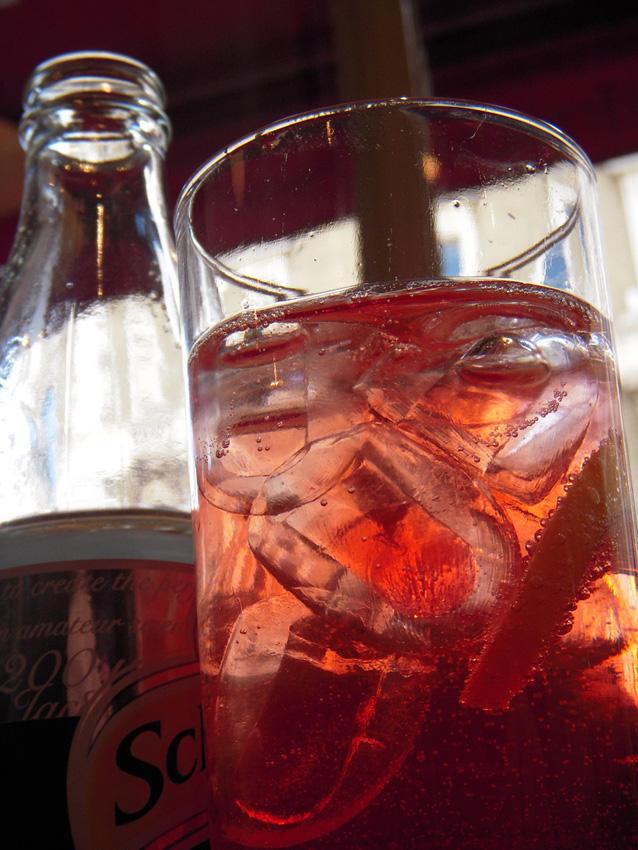 Campari and soda, Cocktail recipe