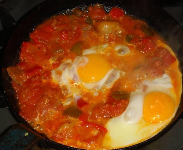 Shakshouka, Egg recipe