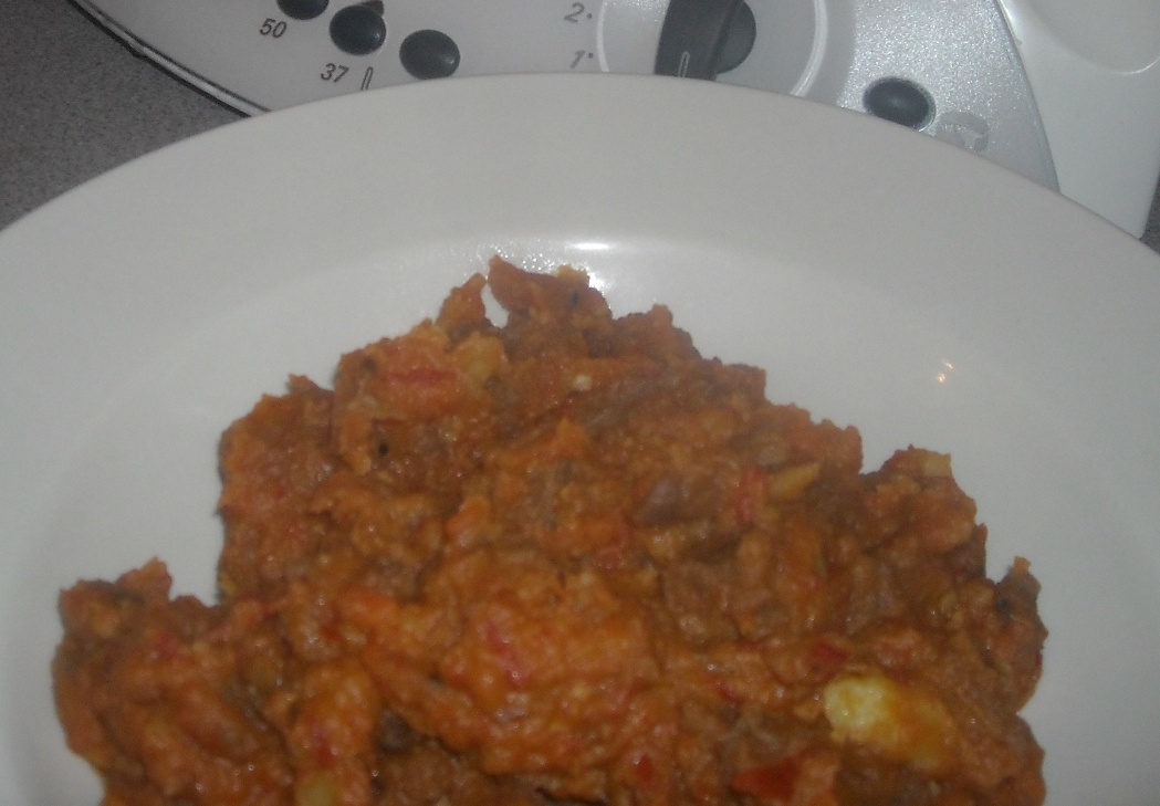 Beef stew with mushrooms - A Thermomix recipe