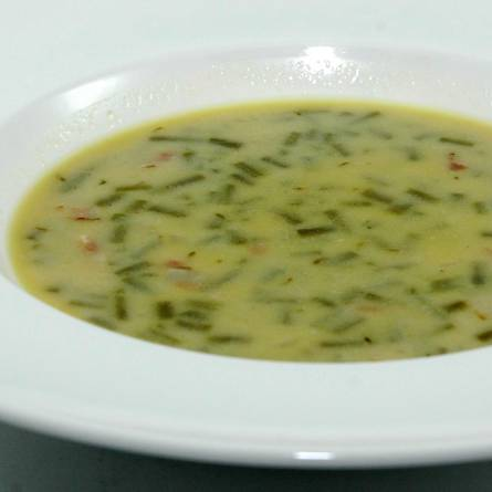 Bouneschlupp (Green bean soup) recipe