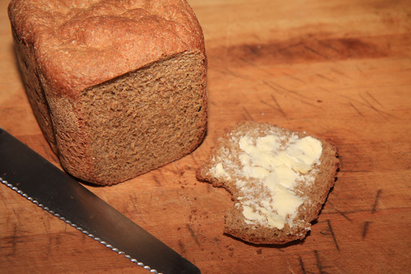 how to make brown bread using a bread machine