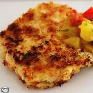 Cuban crab cakes