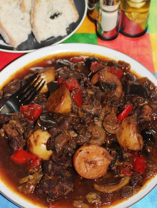 Goat Stew Slow Cooker Recipe