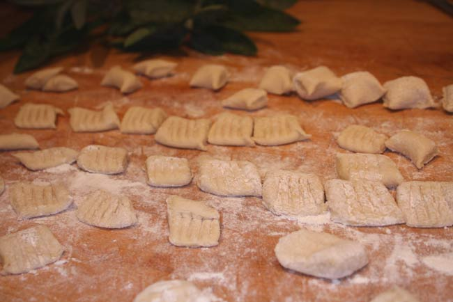 Basic gnocchi, Italian recipes
