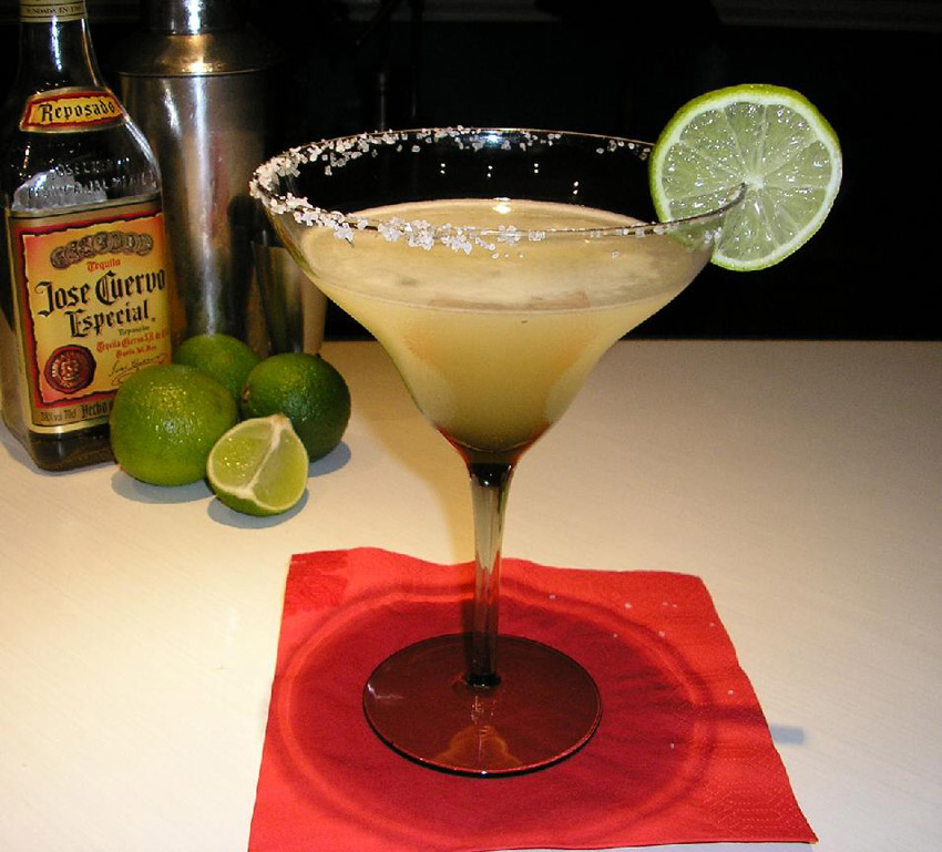 Margarita recipe Cocktail, from Cookipedia.Co.Uk