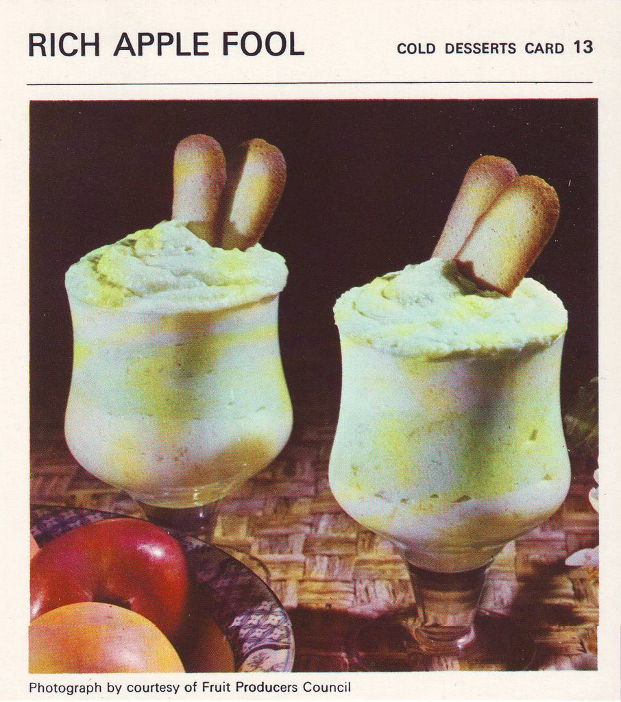 Apple fool Mrs Beeton 39 s a fruit