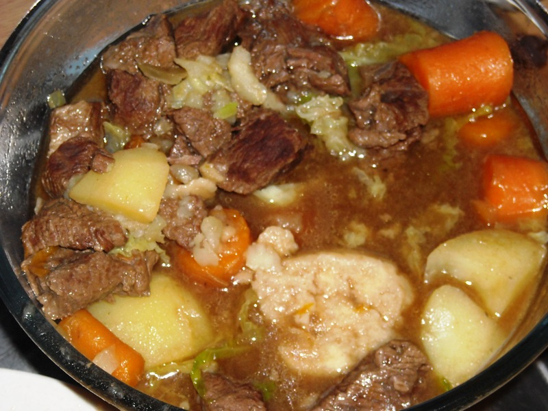 Old Fashioned Beef Stew With Tomoato Juicerecipe