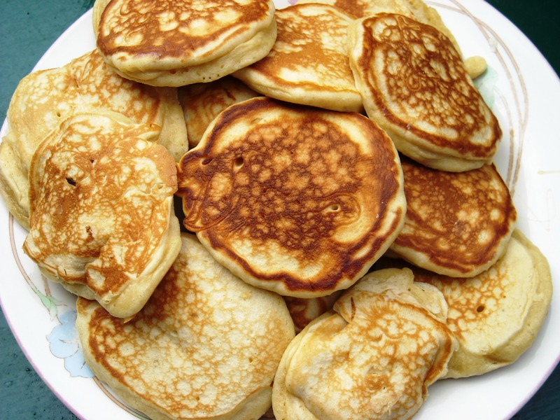 Queen Elizabeth's Drop Scones | BREAKFAST | Pinterest | Scones ...