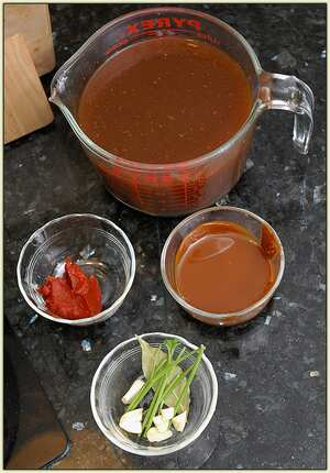 Sauce Espagnole French Recipe