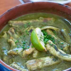 Paling in 't groen (Eel in green sauce)