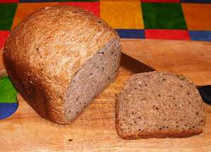 Seeded wholemeal bread