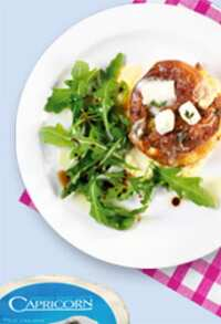 Capricorn goats' cheese and thyme souffles recipe
