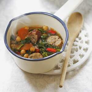 Kale and sausage soup (GF)