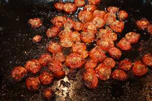 Sun-dried tomato recipe
