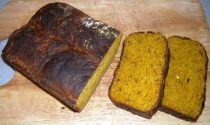 Michael's curry bread