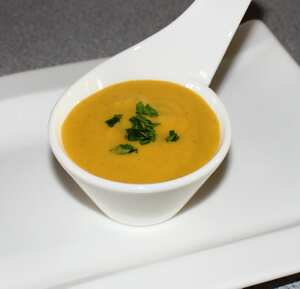 Carrot and coriander soup (TM)