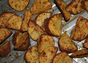 Tex-Mex potato wedges