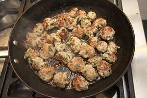 Meatballs from sausages