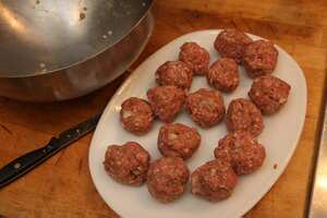 how to cook sauced meatballs