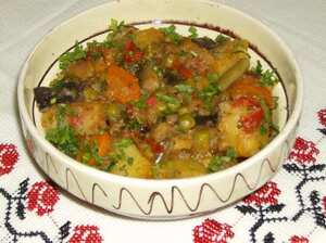 Ghiveci calugaresti (Monastic vegetables)