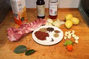 Cochinita pibil, Garlic recipe