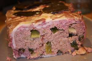 Chicken and bacon pate