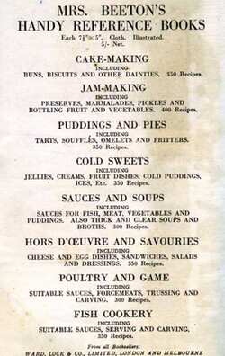 Mrs Beeton's bread and butter pudding